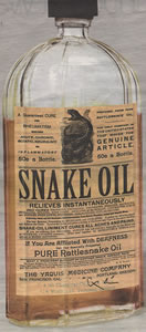 "Business Week Says ""Beware The Snake Oil"""