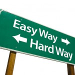 Offer your customers an easy way, not the hard way