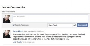 Facebook Comment Box Plugin