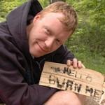 Dave Fleet camping