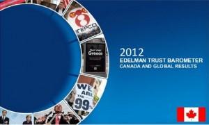 2012 Edelman Trust Barometer