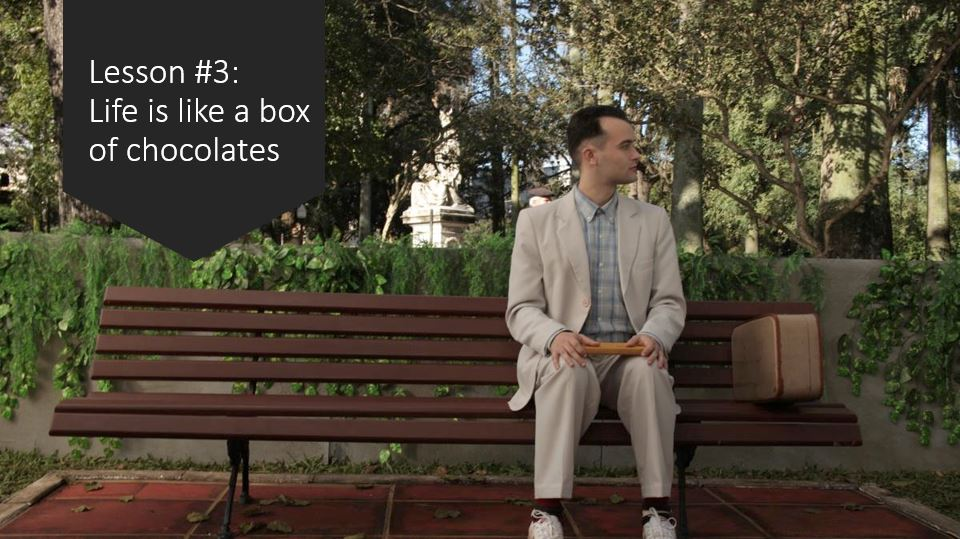 Marketing Career Lesson 3 - Life is like a box of chocolates